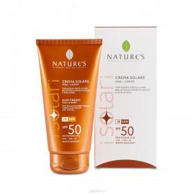 Крем солнцезащитный для лица и тела SPF 50 iSolari Nature's, 150мл