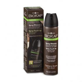 Средство оттеночное для закрашивания отросших корней волос BioKap (тон тёмно-коричневый), 75 мл