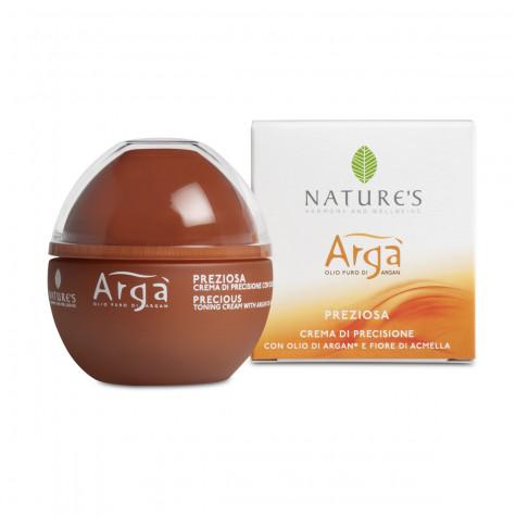 Крем для лица тонизирующий драгоценный Nature's Arga, 50мл