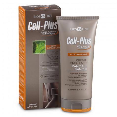 Крем для похудения в области живота и бедер Cell-Plus HD, 200мл