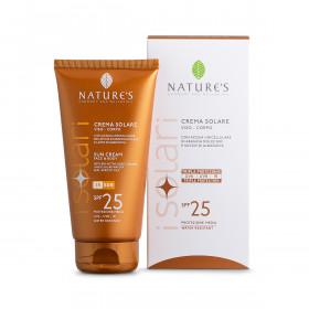 Крем солнцезащитный для лица и тела SPF 25 iSolari Nature's, 150мл