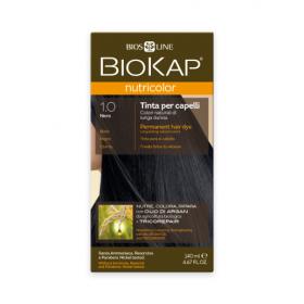 Краска для волос BioKap Nutricolor чёрный натуральный тон 1.0, 1...