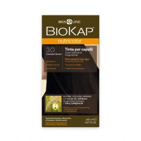 Краска для волос BioKap Nutricolor тёмно-коричневый тон 3.0, 140...