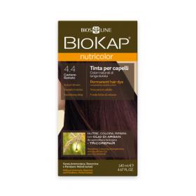 Краска для волос BioKap Nutricolor медно-коричневый тон 4.4, 140...