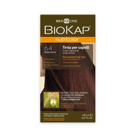 Краска для волос BioKap Nutricolor медно-золотистый карри 6.4, 1...