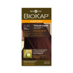 Краска для волос BioKap Nutricolor венецианский красный тон 6.46, 140мл