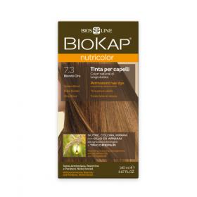 Краска для волос BioKap Nutricolor золотистый блондин тон 7.3, 1...