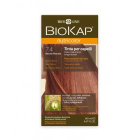 Краска для волос BioKap Nutricolor медный блондин тон 7.4,140мл...