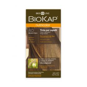 Краска для волос BioKap Nutricolor светло-русый тон 8.0, 140мл...