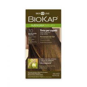 Краска для волос BioKap Delicato средне-русый тон 7.0, 140мл