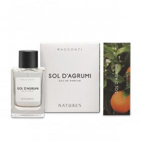 Парфюмированная вода Sol d'Agrumi RACCONTI Nature's, 75мл...