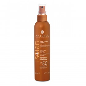 Солнцезащитный спрей SPF 50 iSolari Nature's, 200мл