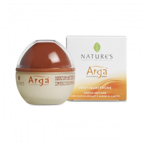 Крем для лица антивовозрастной 24 часа Nature's Arga, 50мл